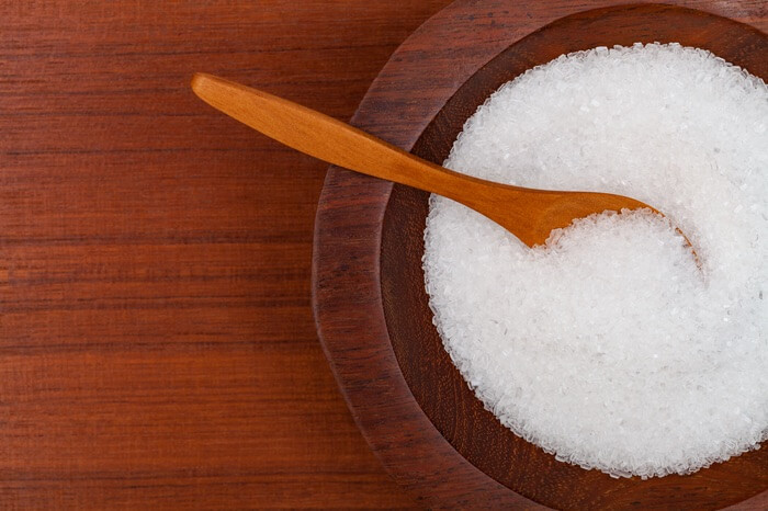 Epsom salt before being used for bed bugs